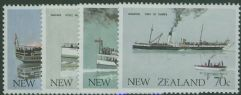 NZ SG1332-5 New Zealand Ferry Boats set of 4